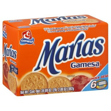 Gamesa Cookies Marias, 34.9-Ounce (Pack of 6)