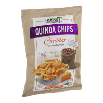 Simply 7 Quinoa Chips Cheddar