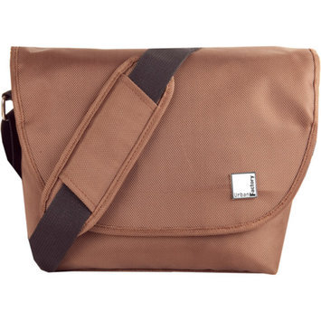 Urban Factory B-Colors Collection Wallet Bag for Camera Reflex/SLR and Lens, Chocolate/Beige
