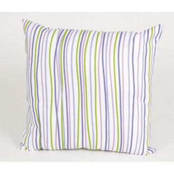 Sweet Potato by Glenna Jean LuLu Square Pillow with Stripes