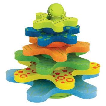 Skip Hop Starfish Stay-Put Stacker Bath Toy