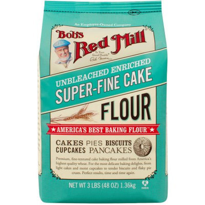 Bob's Red Mill Unbleached Enriched Super-Fine Cake Flour