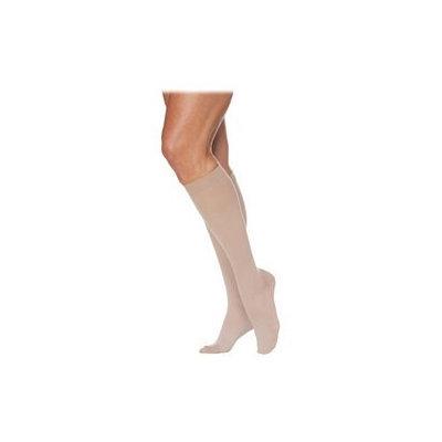 Sigvaris EverSheer 781CSSW08 15-20 Mmhg Closed Toe Small Short Calf Hosiery For Women Dark Navy
