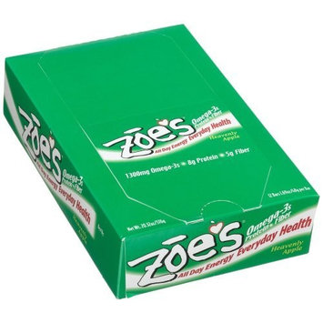 Zoe's All Day Energy Everyday Health Bars, Heavenly Apple, 1.69-Ounce Bars (Pack of 12)