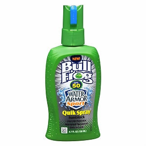 Bull Frog Water Armor Sport Quik Spray Sunscreen