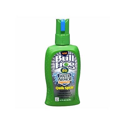 Bull Frog Water Armor Sport Quik Spray Sunscreen