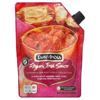 Sauce Rogan Josh Taste Of India 15.8 oz Bag