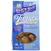 Barry's Bakery French Twists - California Almond, 4.5-Ounce (Pack of 6)