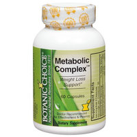 Botanic Choice Metabolic Complex Dietary Supplement Capsules