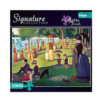Buffalo Games Sunday Afternoon on the Island of La Grande Jatte Seurat 1000 pc Ages 12+