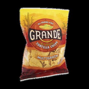 Grande All Natural 0g Trans Fat Multigrain Tortilla Chips