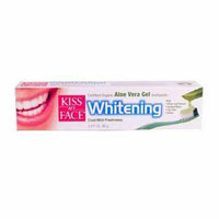 Kiss My Face Corp. Kiss My Face Toothpaste with Organic Aloe Vera Gel Whitening Cool Mint Freshness 3.4 fl oz