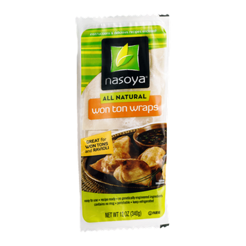Nasoya All Natural Wonton Wraps
