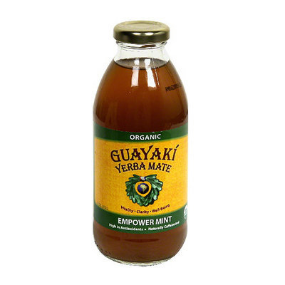 Guayaki Yerba Mate Pure Empower Mint Dietary Supplement
