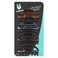 Scunci Effortless Beauty Neutral Clips - 4 Count