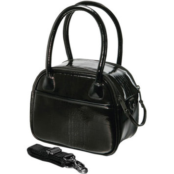 Fujifilm FujiFilm 600009105 Faux Croc Bowler Bags, Black