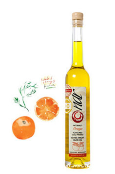Nar Gourmet - Naturally Orange Flavored Olive Oil 100ML