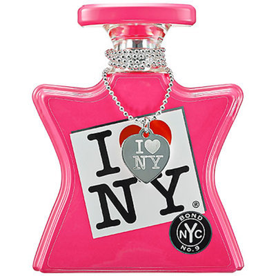 I LOVE NEW YORK by Bond No. 9 I LOVE NEW YORK For Her with Silver Necklace 3.3 oz Eau de Parfum Spray