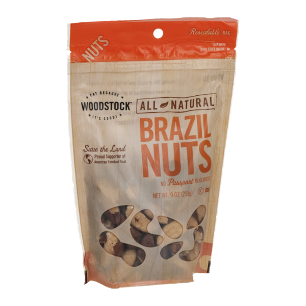 Woodstock All Natural Brazil Nuts