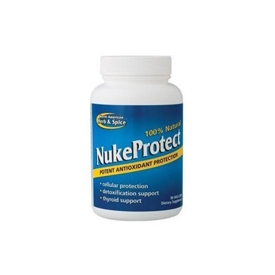 North American Herb & Spice NukeProtect - 90 Vegetarian Capsules