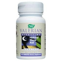 tures Way Nature's Way Valerian Nighttime Tablets, 50-Count