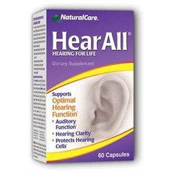 Natural Care HearAll Hearing for Life - 60 Capsules