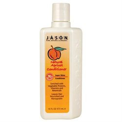 Jason Natural Cosmetics Hair Care Apricot Conditioner Everyday Hair Care 16 fl. oz. 207527