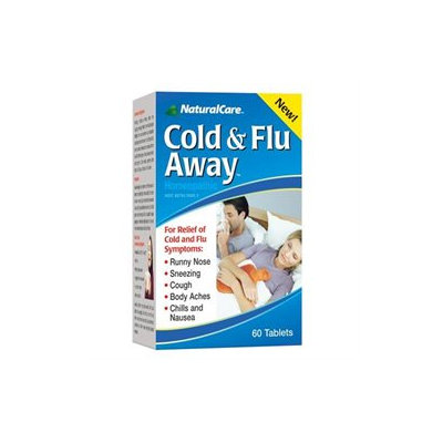 Cold & Flu Away 60 Tabs from Natural Care