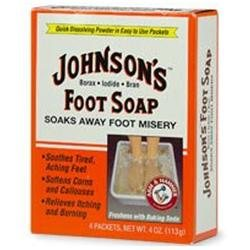 Johnson's Baby Johnson's Foot Soap, Packets - 4 ea