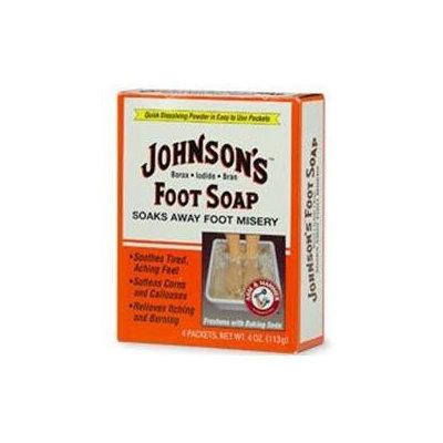 Johnson's Baby Johnson's Foot Soap, Packets - 4 ea