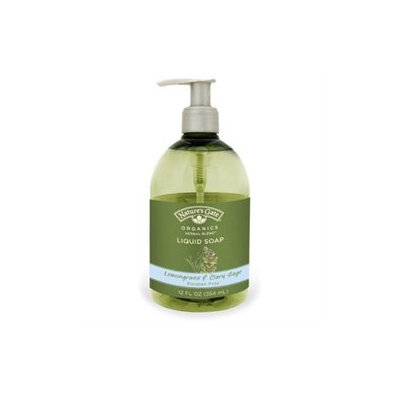tures Gate Organics Nature's Gate Organics Liquid Soap Lemongrass and Clary Sage - 12 fl oz