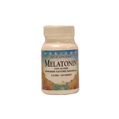 Melatonin 2 5 Mg Sublingual Pepperment Tablets, By Horizon Nutraceuticals - 60 Ea