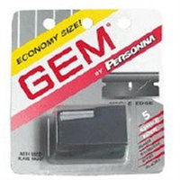 Gem Personna Single Edge Super Stainless Steel Blades with Used Blade Vault - 5 ea/ Pack