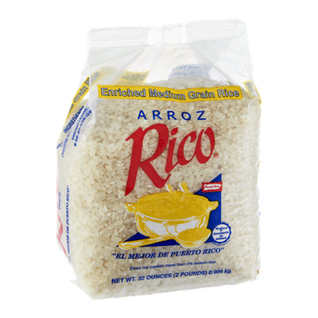 Arroz Rico Enriched Medium Grain Rice