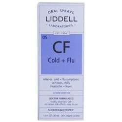 Liddell Laboratories - CF Cold Flu Homeopathic Oral Spray - 1 oz.