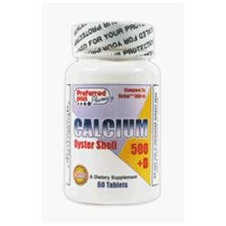 Os-cal Oyster Calcium Tablets 500 Mg+D, 60 Tablets