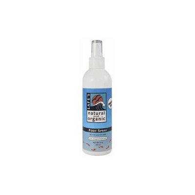 Lafes Natural Body Care Lafes - Natural and Organic Foot Spray with Peppermint Oil - 8 oz.
