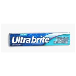 Ultra Brite Baking Soda And Peroxide Formula Toothpaste - 6 Oz