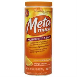 Metamucil Smooth Texture Fiber Laxative / Fiber Supplement