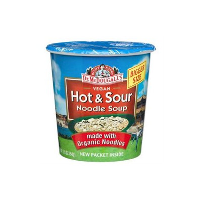 Dr. McDougall's Big Cup Soup Hot and Sour - 1.9 oz - Vegan