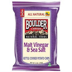 Boulder Canyon 35765 Malt Vinegar Potato Chips