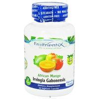 FruitrientsX - African Mango Irvingia Gabonensis - 60 Vegetarian Capsules