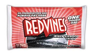 Red Vines Black Licorice Twists