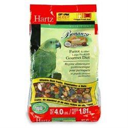 Hartz 4 Lb Nutrition Bonanza Parrot & Other Large Hookbill Gourm
