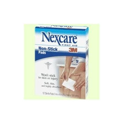 Nexcare First Aid Sterile Non-Stick Pads
