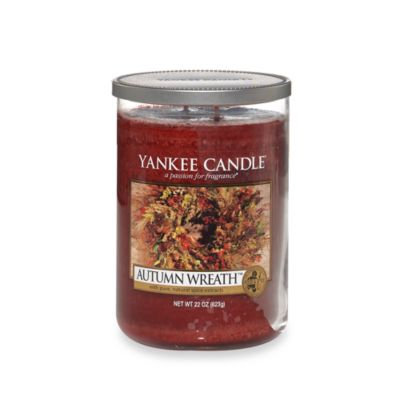 Yankee Candle® Housewarmer® Autumn Wreath Large Lidded Candle Tumbler