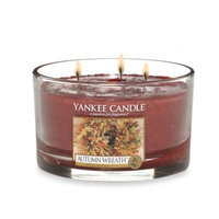 Yankee Candle® Autumn Wreath 3-Wick Candle