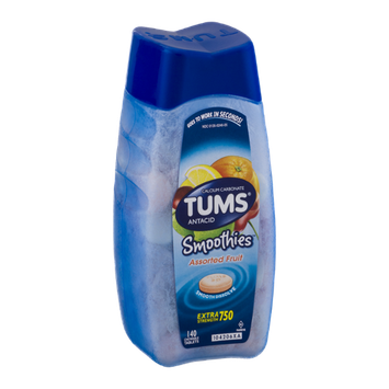 Tums Antacid Smoothies Assorted Fruit - 140 CT