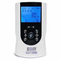 Current Solutions InTENSity Select Combo TENS, Muscle Stimulator, and IF Unit - Dual Channel
