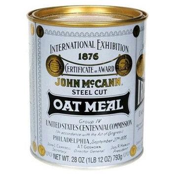 McCann's Oatmeal Steel Cut Tin, 28 OZ (Pack of 1)